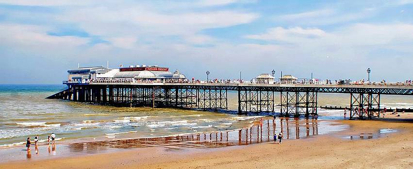 Cromer Beach North Norfolk by Rosanna Zavanaiu