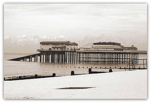 Cromer In Winter.. by Rosanna Zavanaiu