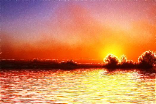 David French - Cromer Sunrise Fractals