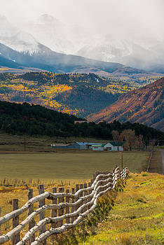 Crooked Fence by Chuck Jason