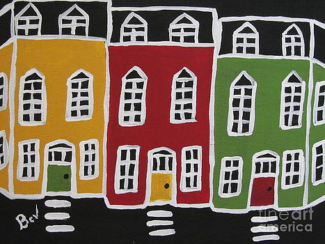 Crooked-House-painting by Beverly Livingstone