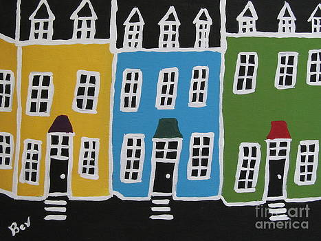 Crooked-House-painting2 by Beverly Livingstone