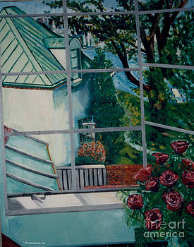Crop from Annapolis and Roses by Karen Francis