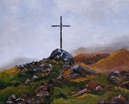 Cross 2 by Thea Wolff