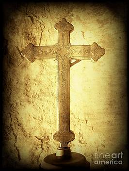 Vicki Maheu - Cross at Mission San Buenaventura
