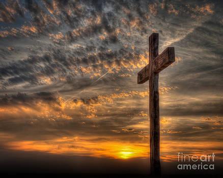Cross at Sunset by Kerri Garrison