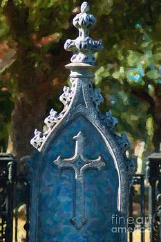 Dale Powell - Cross Headstone
