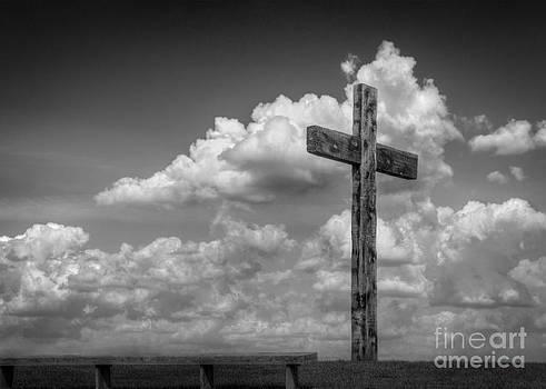Cross in Black and White by Kerri Garrison
