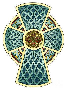 Cross of Ireland by Cari Buziak