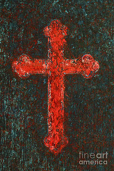 Cross of Red by Pattie Calfy