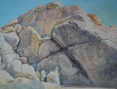 Cross Rock at Indian Cove by Sandra Lytch