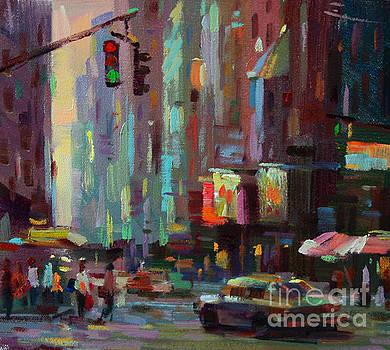 Cross Street by Tony Song