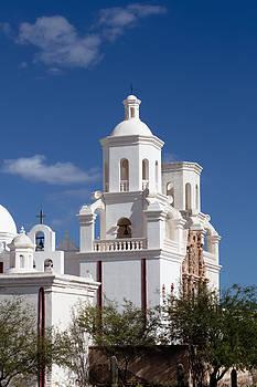 Crosses at San Xavier del Bac by Ed Gleichman