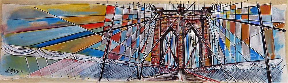 Crossing Brooklyn Lines by Nancy Hilliard Joyce