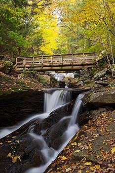Crossing Kitchen Creek by Tim Devine