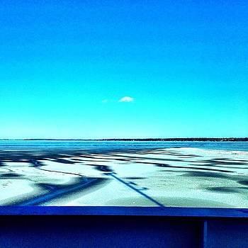 Crossing The Frigid Lake by Derek Peplau