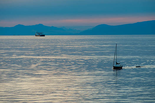 Crossing the Strait by Colin Sands