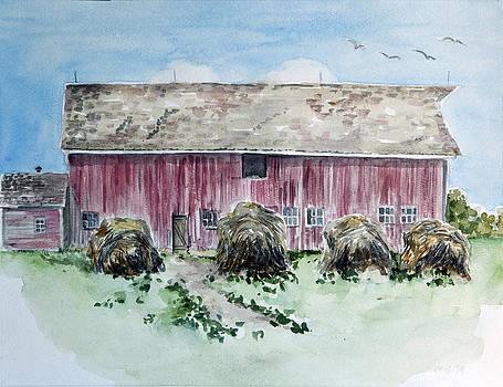 Crossroads Barn by Ina Whitlock