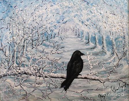 Crow by Bozena Chmielewska