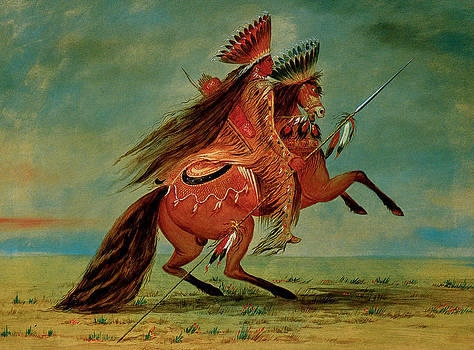 George Catlin - Crow Chief