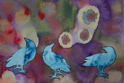 Crow Series 6 by Helen Klebesadel