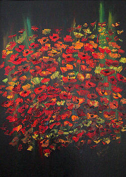 Crowd of Poppies by Dorothy Maier