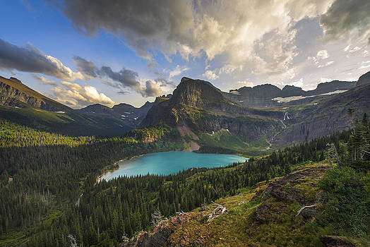 Crown of the Continent by Joseph Rossbach
