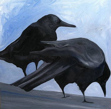 Crows by Carrington Brown