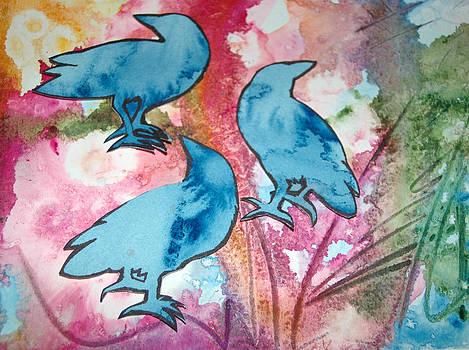 Crow Series 2 by Helen Klebesadel