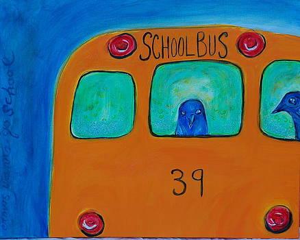Crows Wanna Go School by Bonnie Bardos