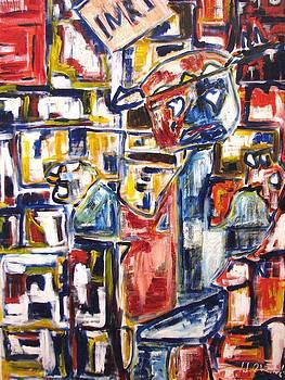 Crucifixion by John Maione Jr