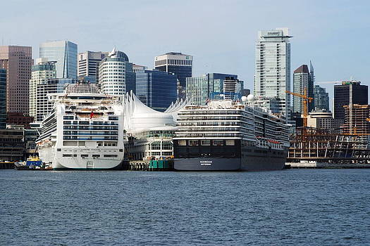 Cruise Ships by Devinder Sangha