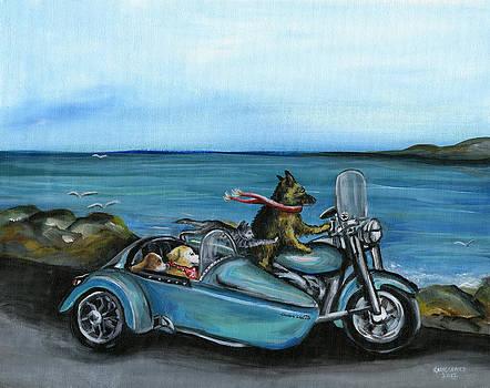 Cruisin' Canines by Kim Arre-gerber