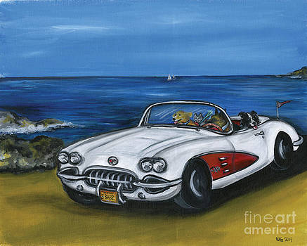Cruisin with the top down by Kim Arre-gerber
