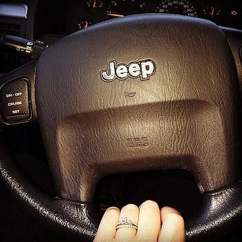Cruising Around In That #jeep #jeeplife by Crystal Duncanson