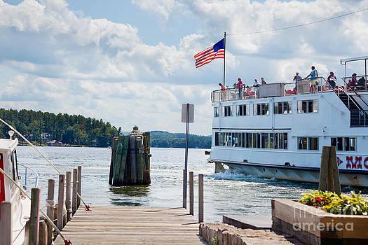 Jo Ann Snover - Cruising Lake Winnipesaukee
