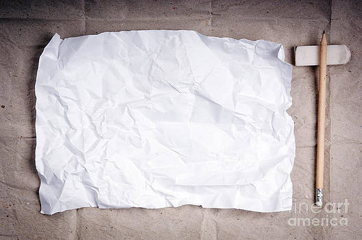 Tim Hester - Crumpled Writing Paper Background