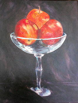 Crystal Apples by Maureen Pisano