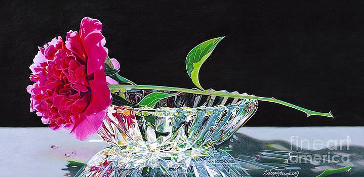 Crystal Beauty by Arlene Steinberg