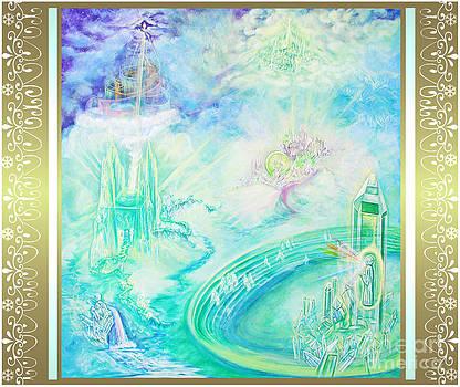 Crystal Kingdom with Scroll Border by Joyce Jackson