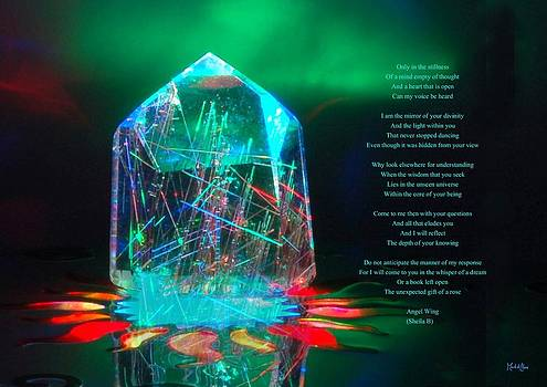 Crystal Magic With Text by Mark DeClare