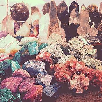 Crystals at the Market by Courtney Jines