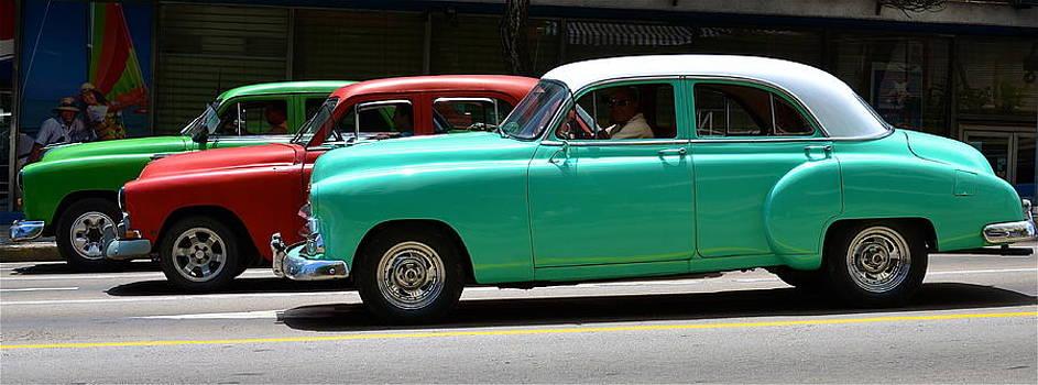 Cuban Cars by Louise Morgan