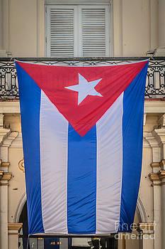 Ian Monk - Cuban Flag Key West - HDR Style