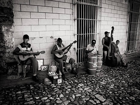 Cuban Street Band by Philip G