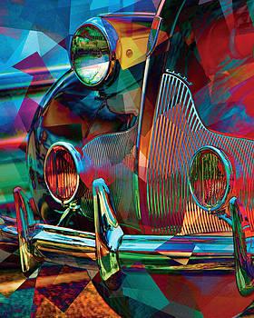 Cubist Car  by Chuck Brittenham