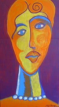 Cubist Portrait by Max Powers