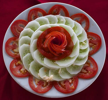 Venetia Featherstone-Witty - Cucumber and Tomato Salad