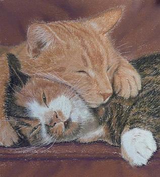 Cuddles by Barbara Bird