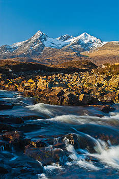 David Ross - Cuillin Hills from Sligachan Isle of Skye
